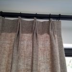 Linen Curtains Sewn with a Top Pinch Pleat | Custom Curtains & Draperies | Fort Pierce & Port St. Lucie