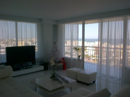 Ripplefold Sheer Curtains | Fort Pierce & Port St. Lucie